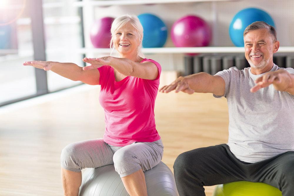 SemTeo Fitness Fit 50+ Wirbensäulentraining