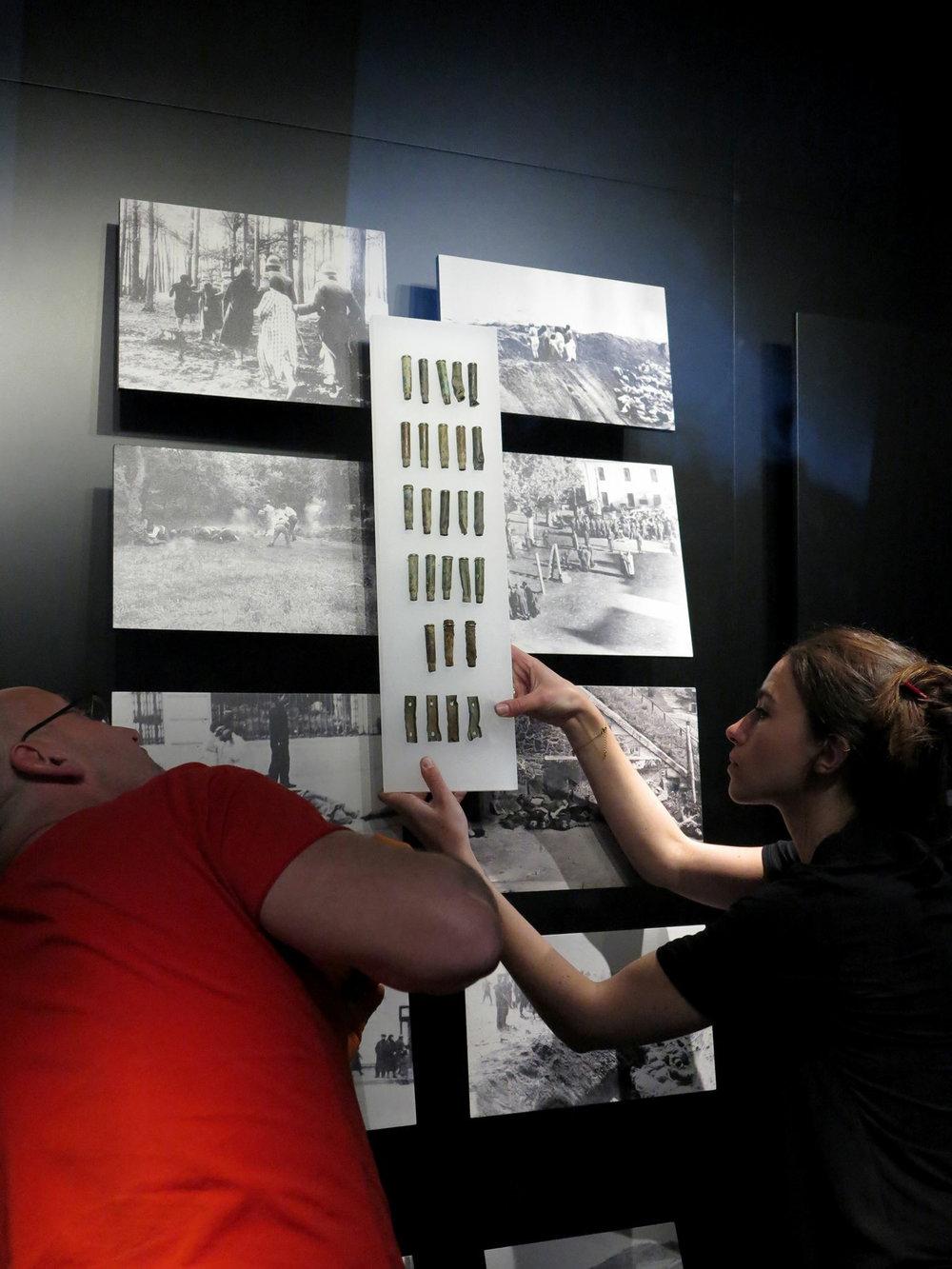 Soclage d'objets en Musées