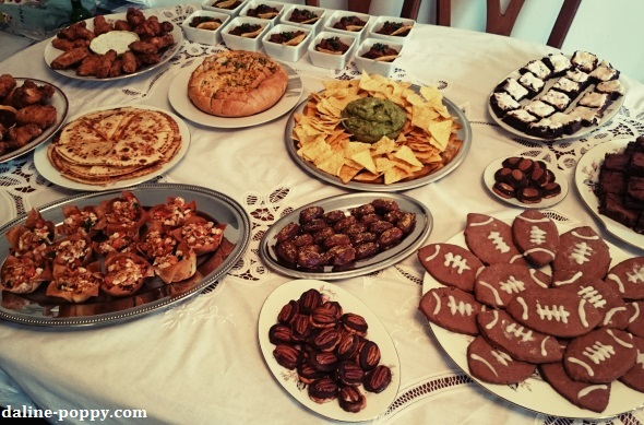 chocolate football cookies