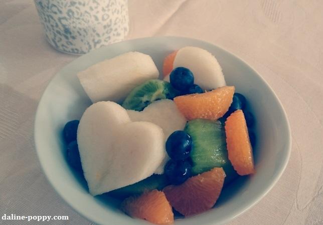 fruits valentine's day