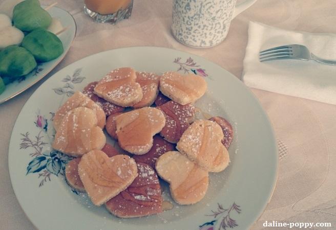 pancakes saint valentin