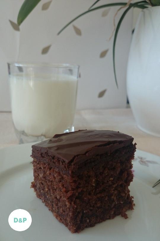 Chocolate - coconut cake