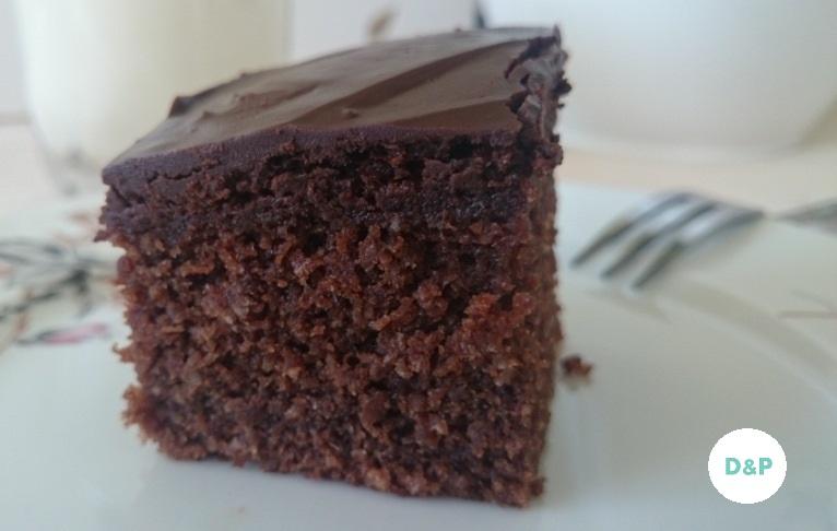 chocolate coconut cake