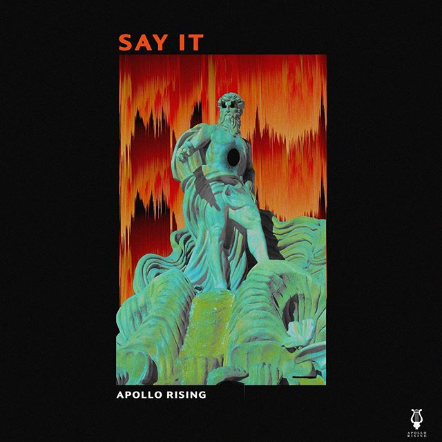 """Our new single """"Say It"""" is OUT NOW ! And available on all streaming services. 🧡🖤 Artwork : @laithsafa"""