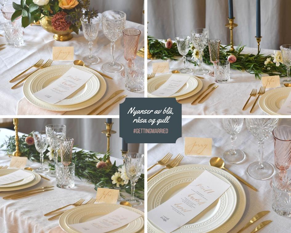 Bryllupsbord Table Tales
