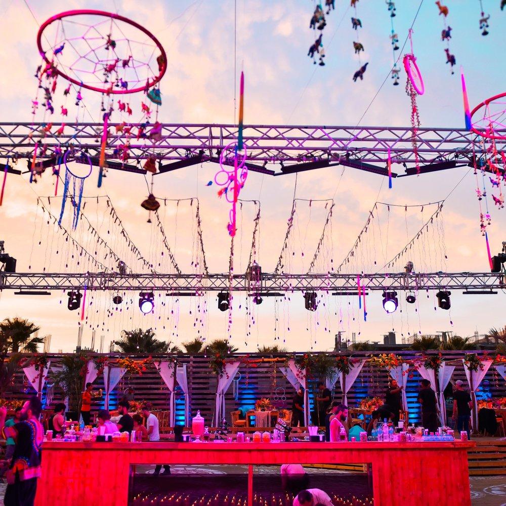 MK Holi color festival after wedding byganz 2017