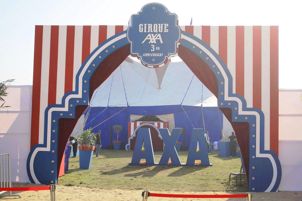 Cirque Axa Annual Success Summit byganz corporate event Cairo Egypt 2019