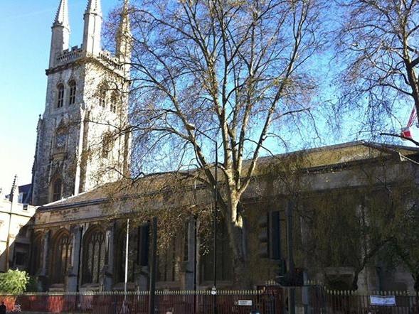 Holy Sepulchre London -