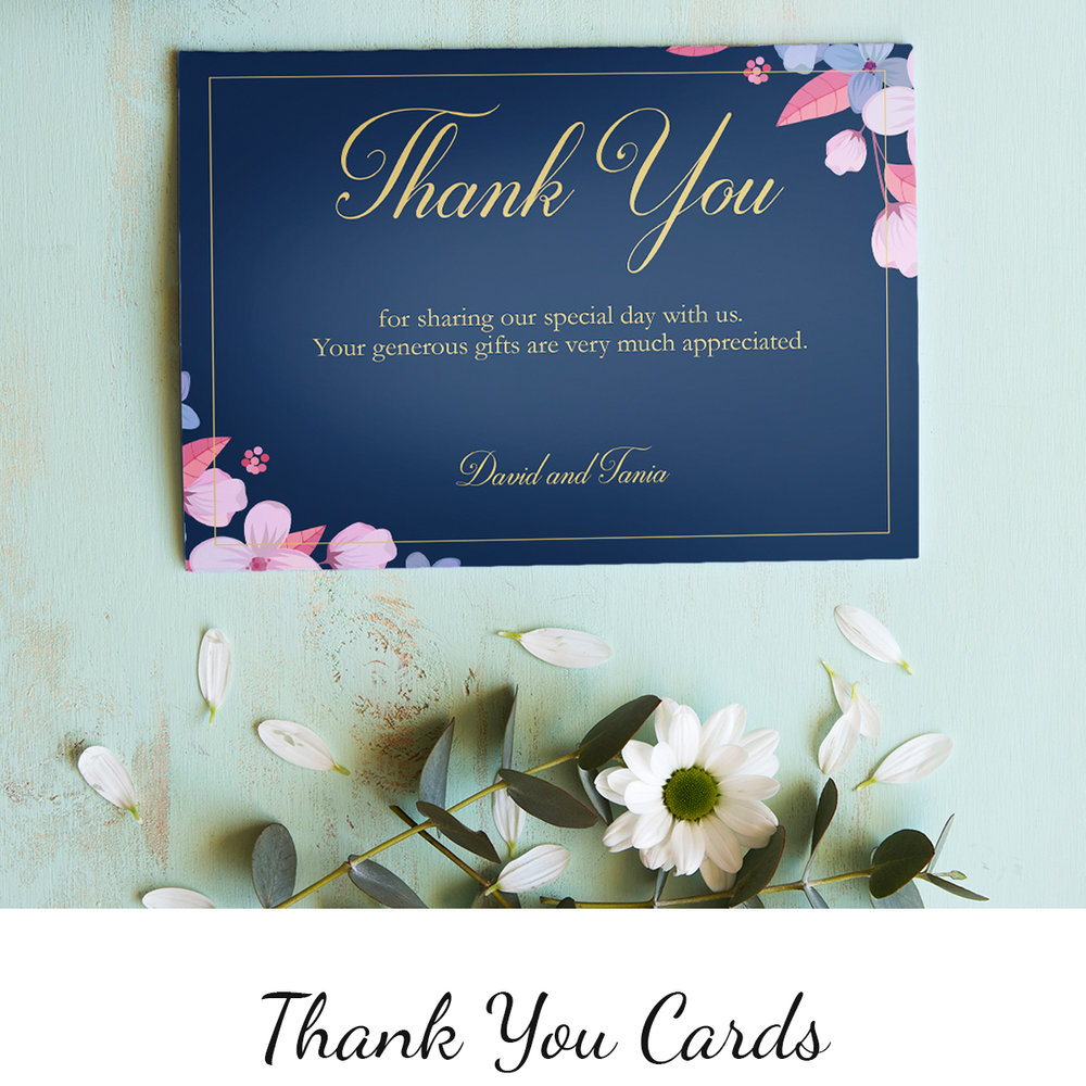 Make your personal token of appreciation with a bespoke card >       Prices from 48p each