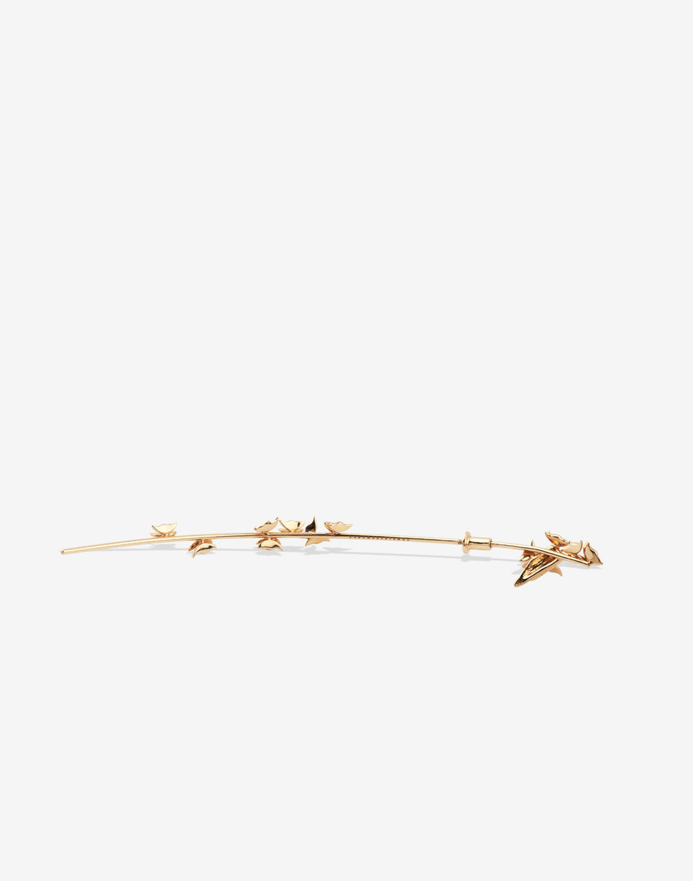 A Flight of Butterflies - Yellow Gold and Diamond Earring