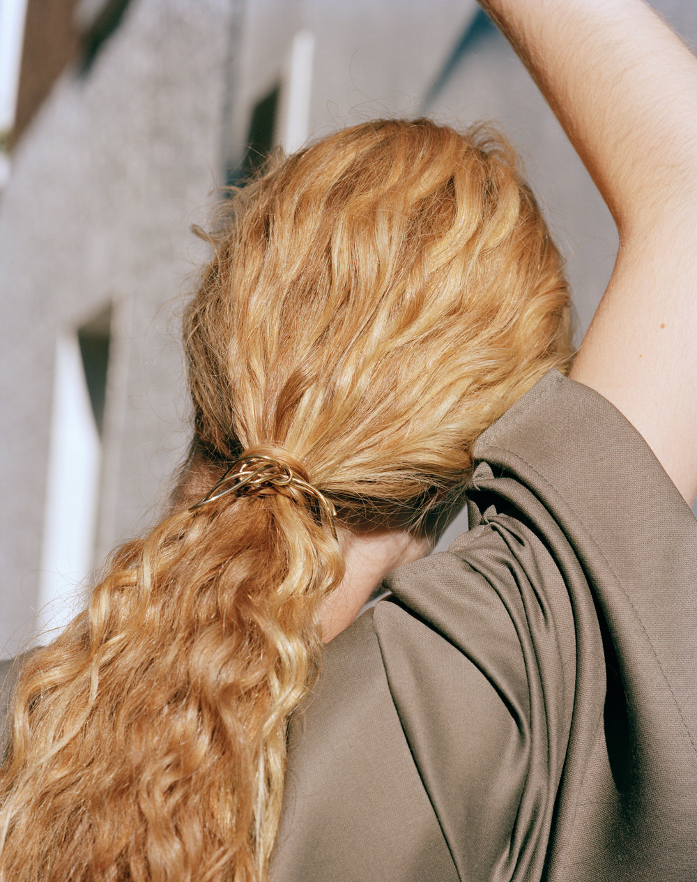 The March of Progress gold vermeil hair pin - £295   More details