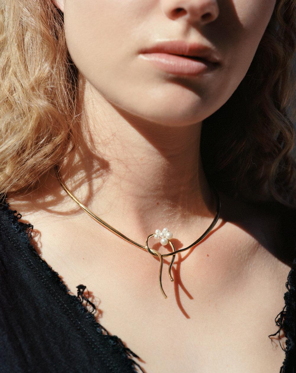 Rift Gold Vermeil Earring - £185   More details