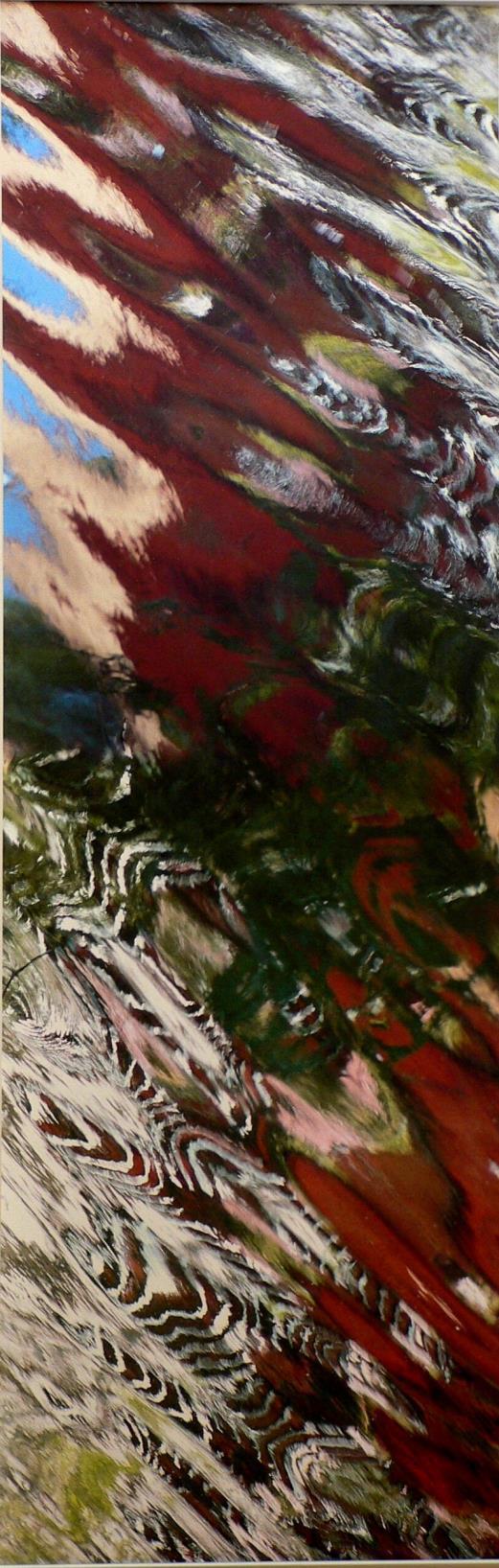 Flamboyante 1 et 2, Isle sur Sorgue Tirage sur bâche, 285x80cm