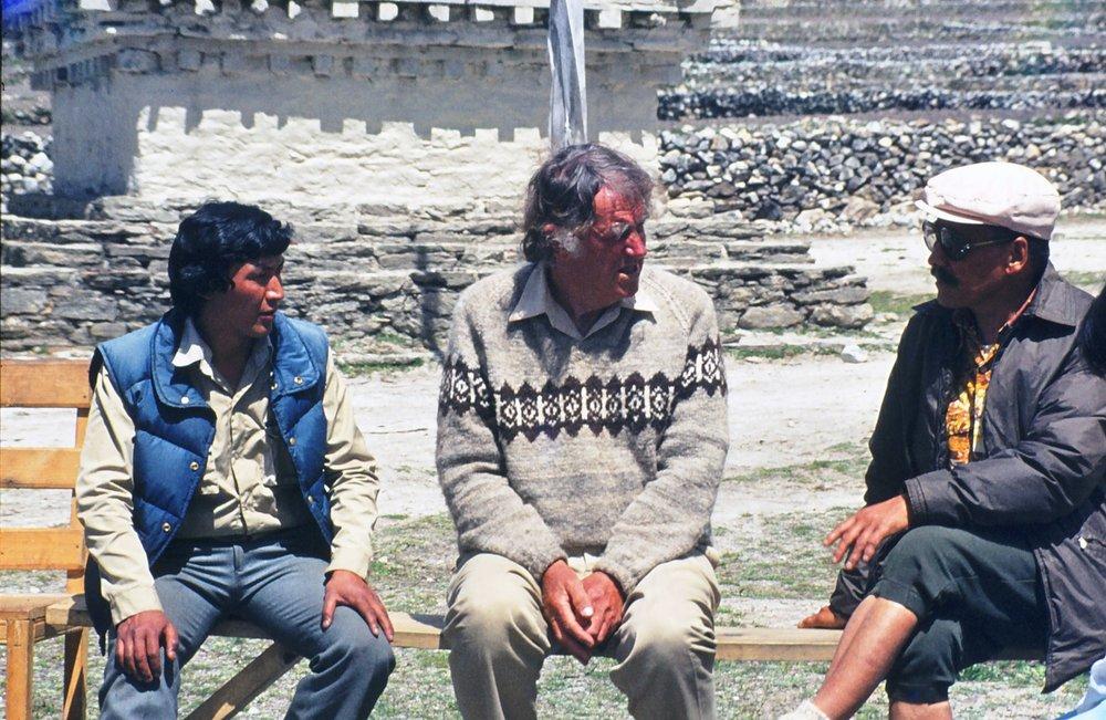 Mingma, Hillary & Tenzing Norgay when he was Sagramartha park warden.jpg