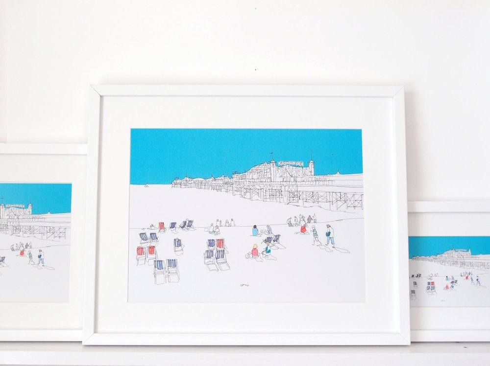 Brighton Beach - 3 Prints.jpg