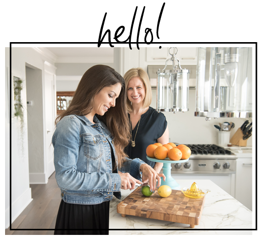 We're lauren + Nicole - Two culinary dietitians who've spent over a decade helping restaurant chefs and food companies makeover their food and menus. Now, we're bringing those same pro tips, ideas and inspiration to your kitchen.