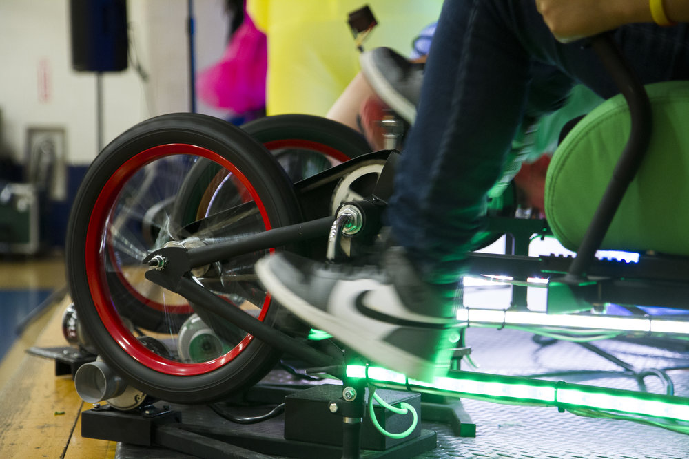"""The kids loved the catchy, educational music and were crazy about making clean energy with the cool bike powered system."" - Pam McVey, Creative Arts and Science Committee, Burr School"