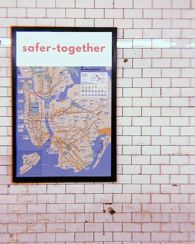 Make the subway safe again. Safer-Together.com