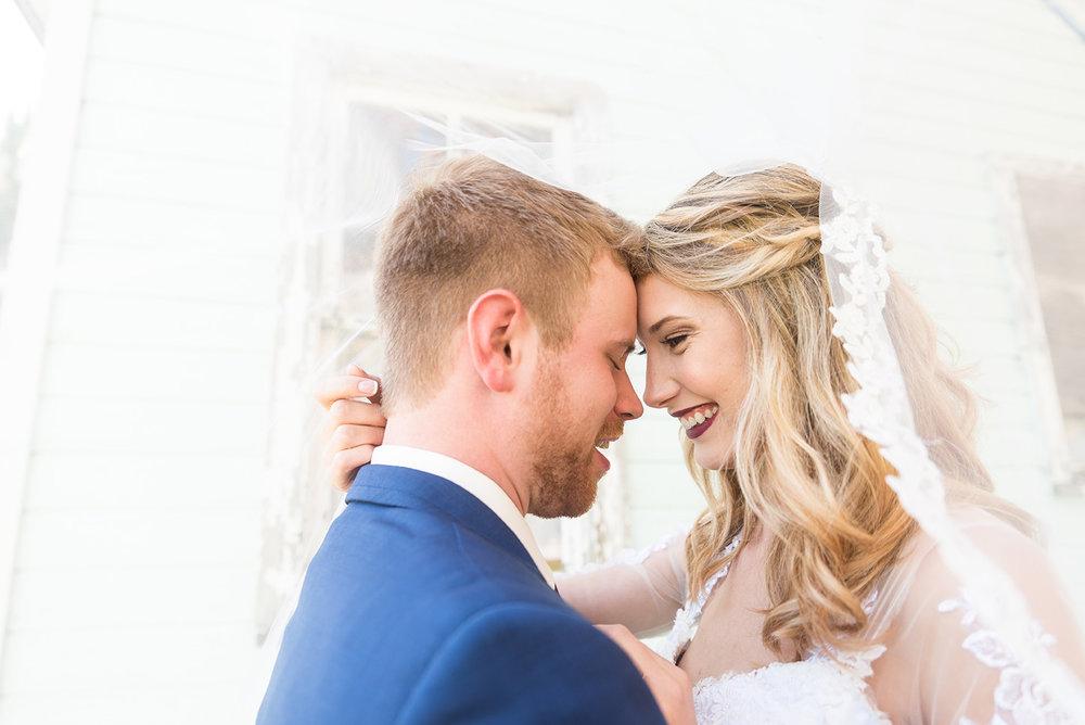 Beautiful Bride and Groom on Wedding Day  |  Life & Art Photography  |  Destination Wedding Photographer