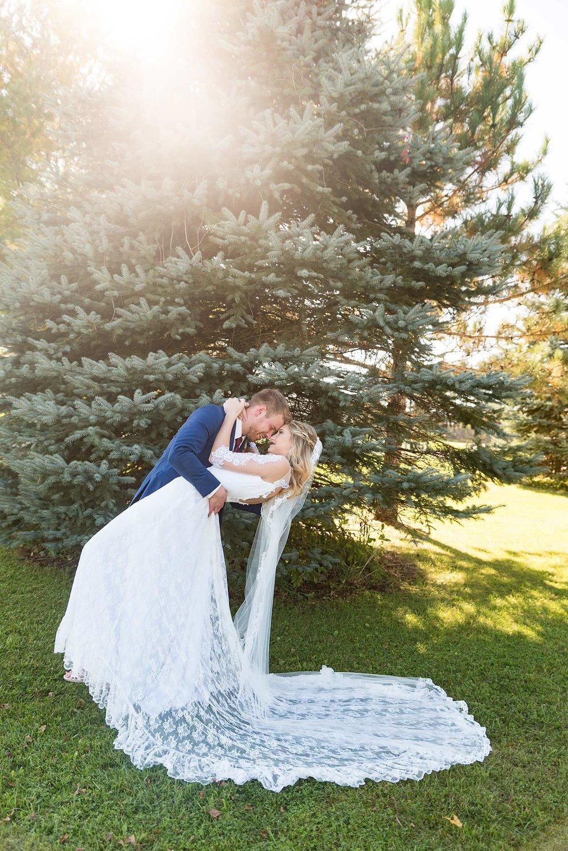 The Dip Wedding Pose Bride and Groom  |  Life & Art Photography  |  Destination Wedding Photographer