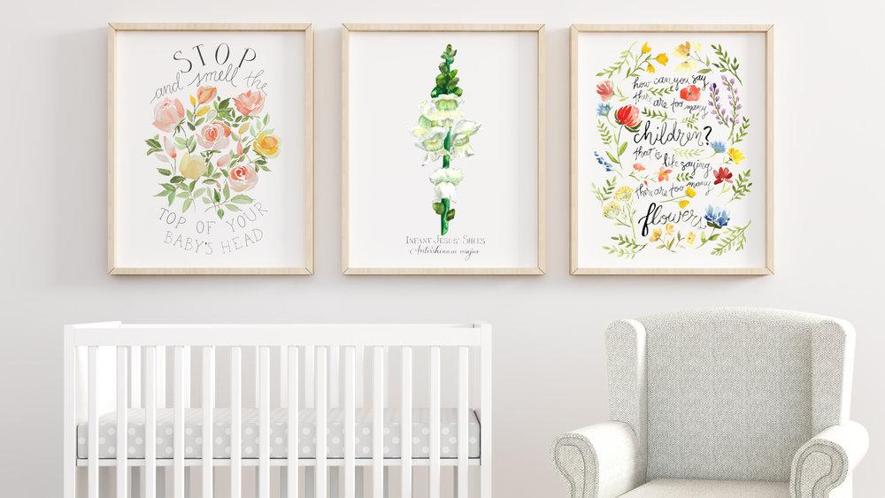nursery-head-shoes-flowers