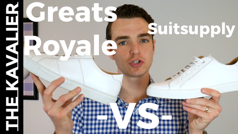 Greats Royale vs Suitsupply White