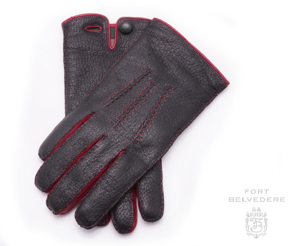 #11 -  Fort Belvedere Peccary Gloves