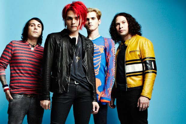 The band during the promo period for Danger Days  Source: NME