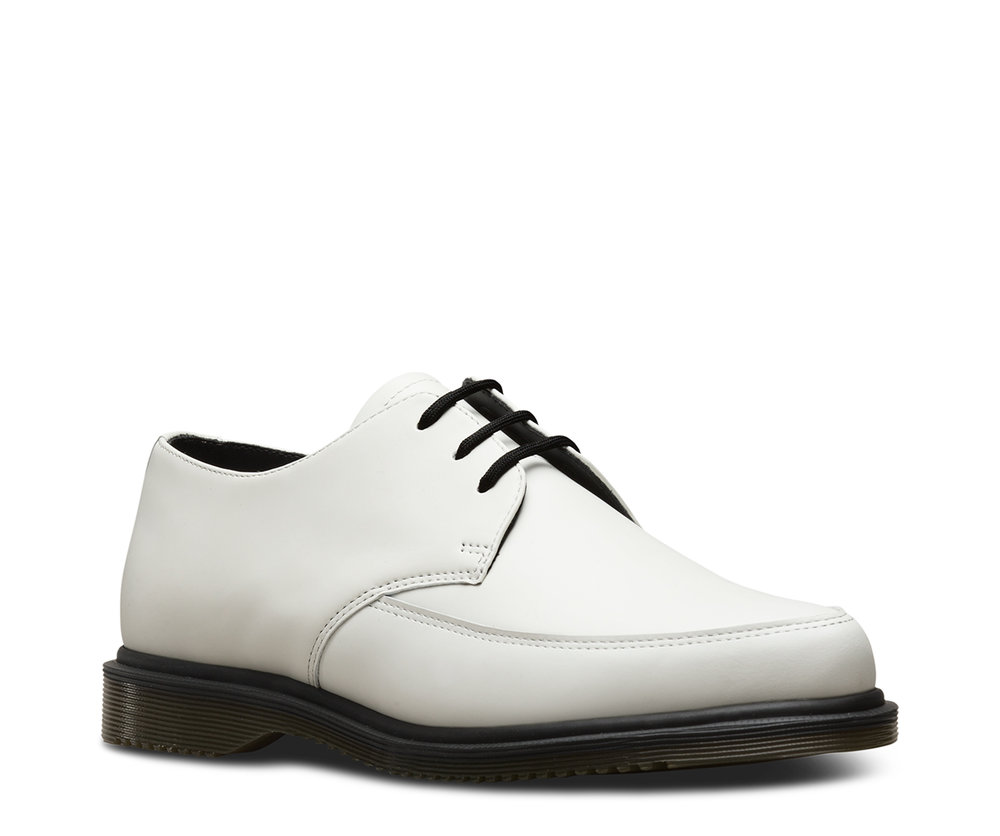 Dr. Martens Willis in White  Source: Dr. Martens