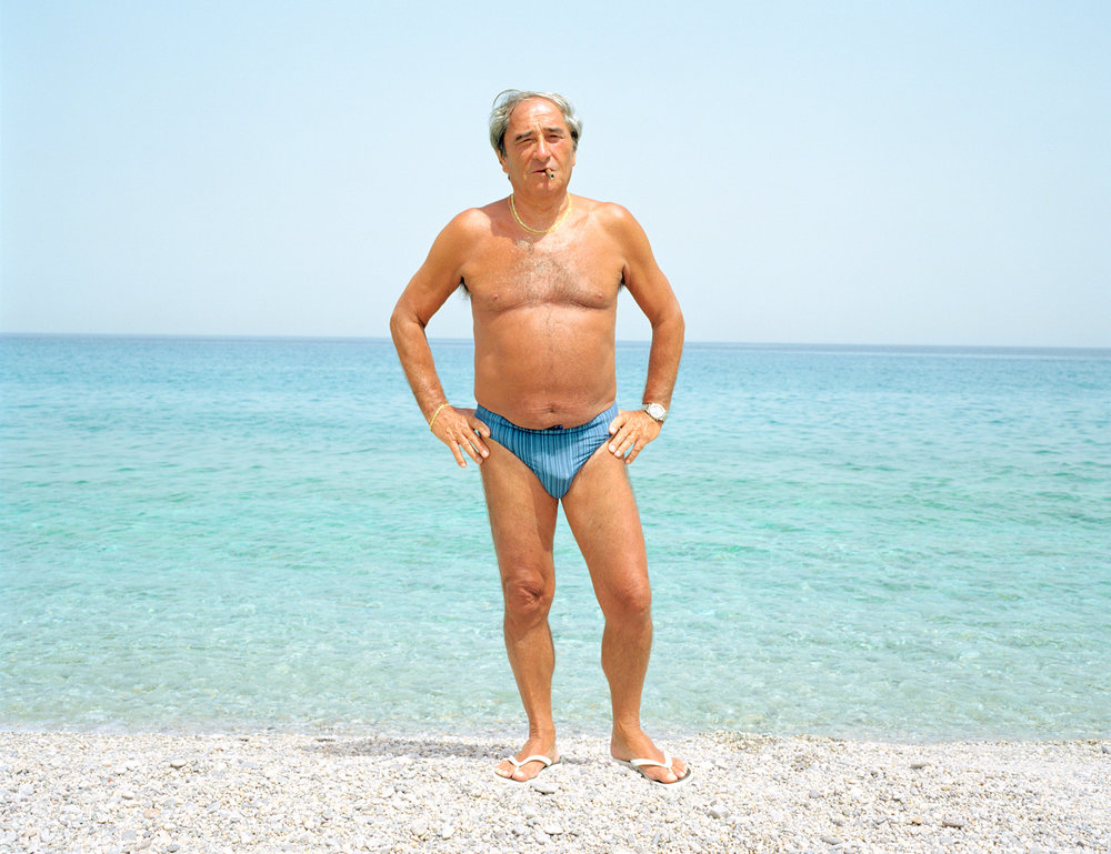 Beach bather / Sicily