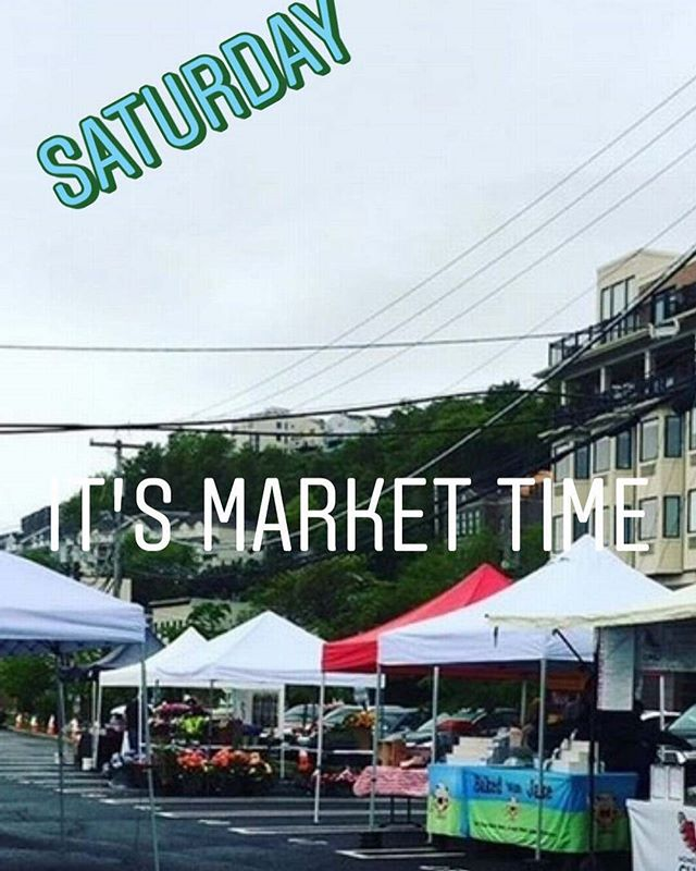 Good Morning #edgewaternj, it's market day. Swing by for some delicous, local produce and goods. Enterainment today is by the Gully Hubbards. It's going to be a good day!!! #local #fresh #produce #bakedgoods #supportsmallbusiness