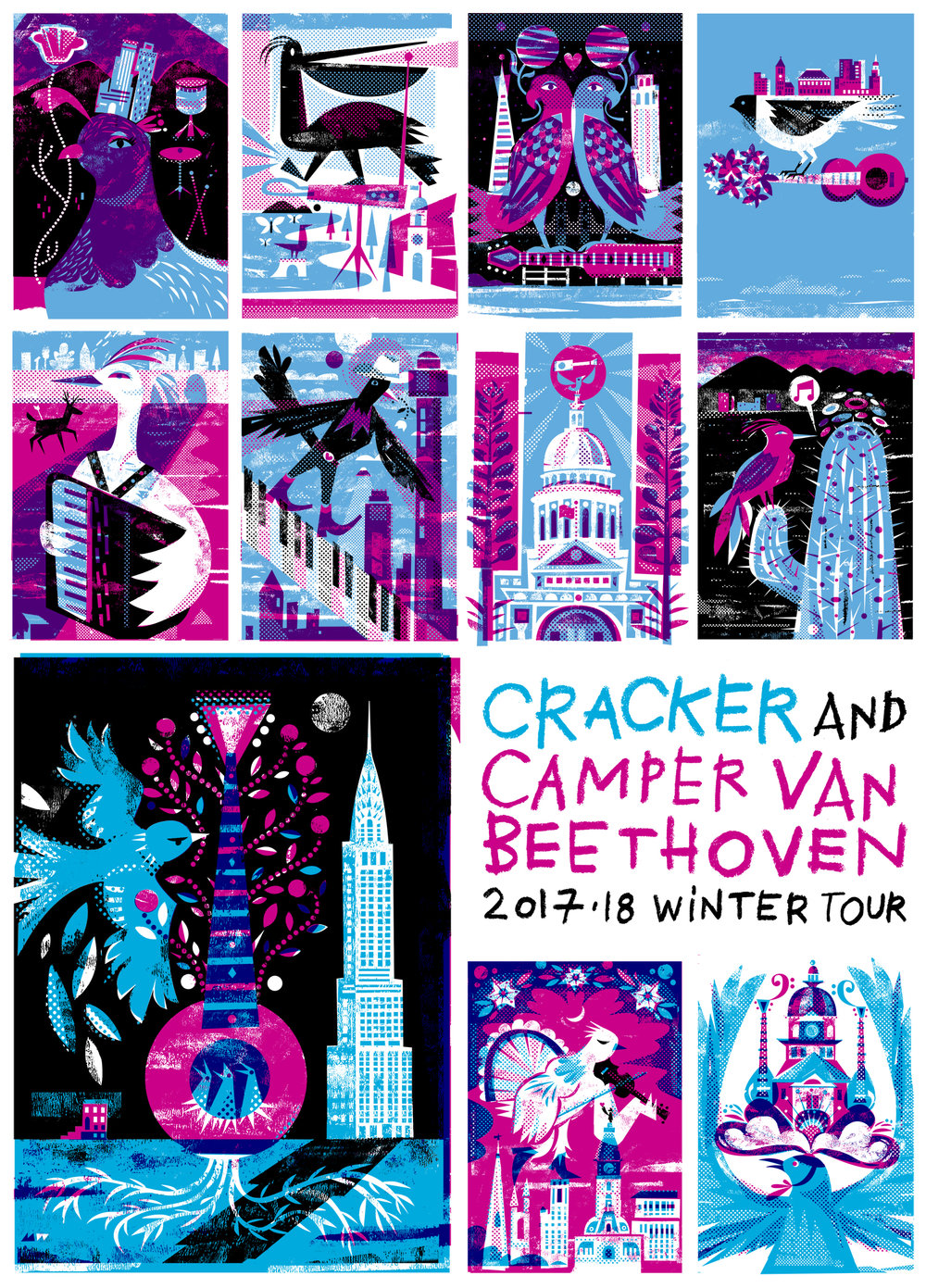 Cracker and Camper Van Beethoven: Winter Tour 2017