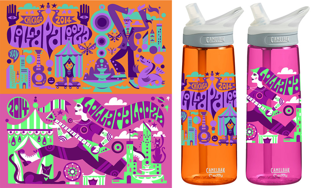 Lollapalooza Bottles