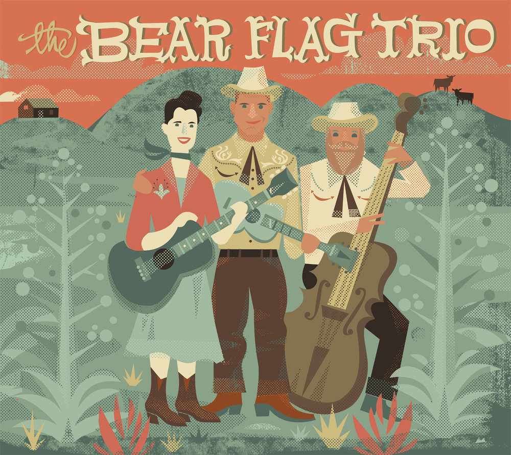 Bear Flag Trio