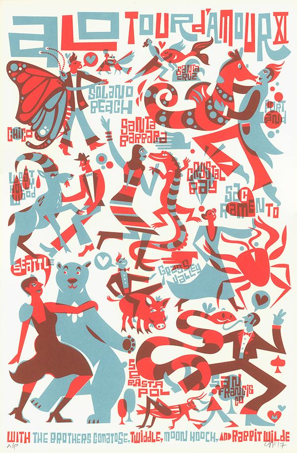 ALO: Tour D'Amour Poster