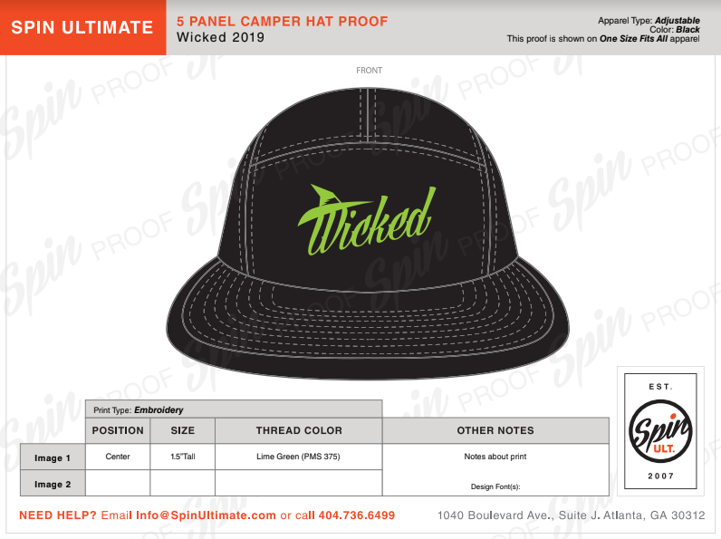 5c5be4b0a09b0 5 Panel Hats for Sale! Help Support Wicked. — Wicked Ultimate