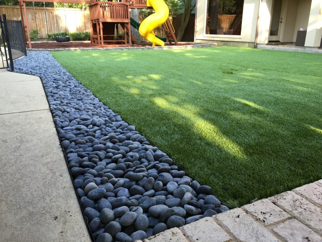 Artificial turf project: after