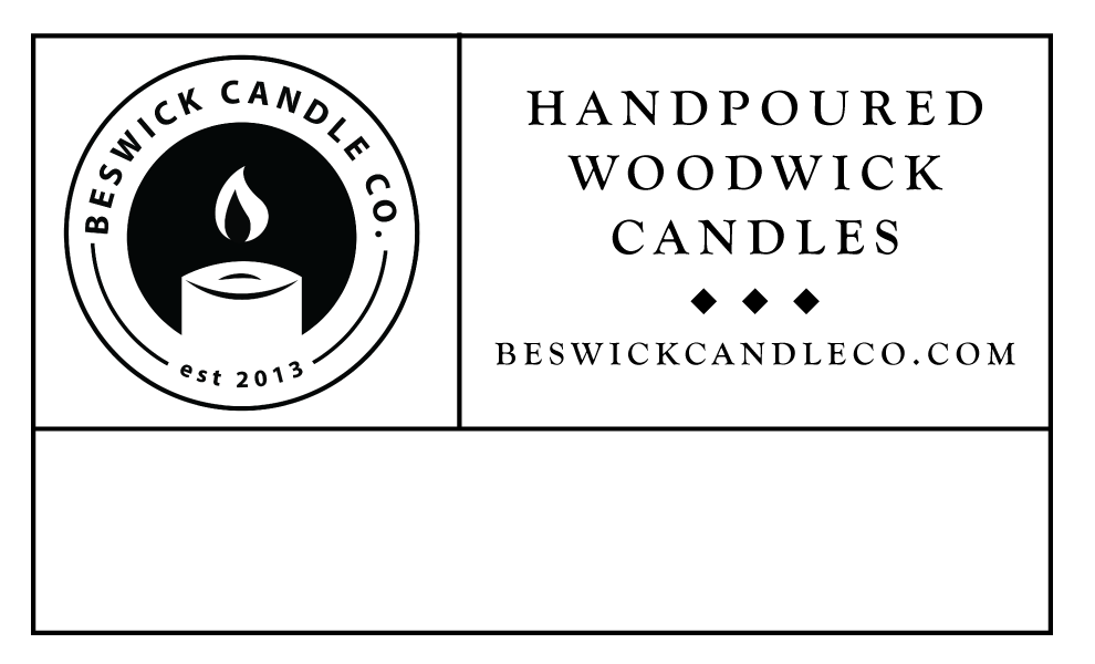 Beswick Candle Co. Label Design