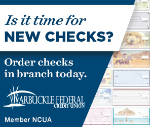 Is it time for new checks? Order checks in branch today.