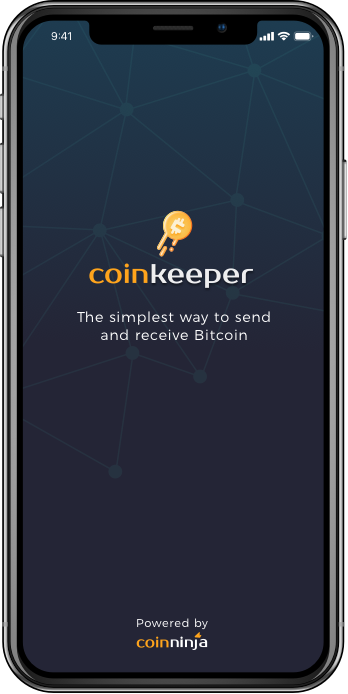 Coinkeeper will be the simplest way to send and recieve Bitcoin