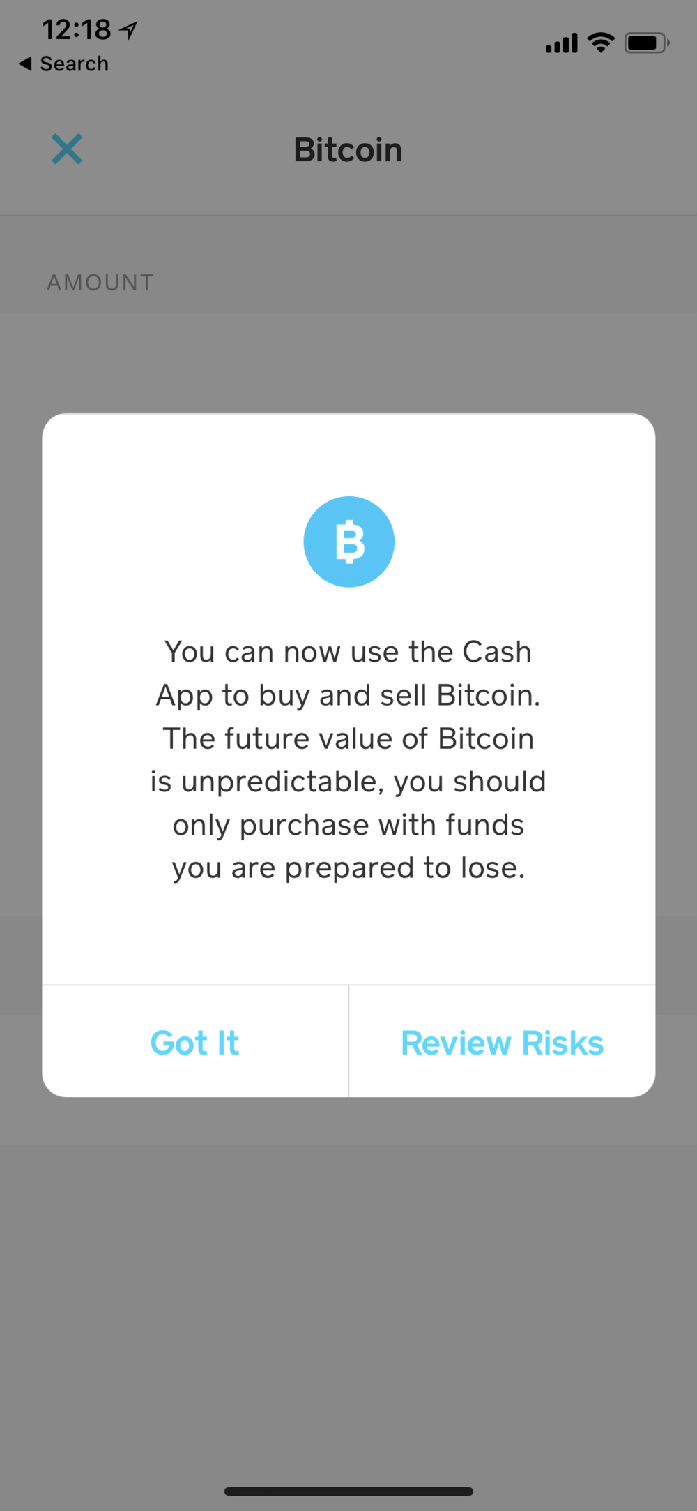 - Square CashApp has opened the capability to buy and sell Bitcoin to all users.