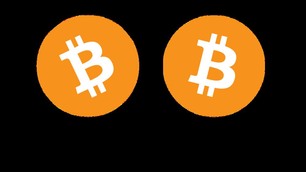 Bitcoin Cash blatant logo ripoff of the original Bitcoin logo