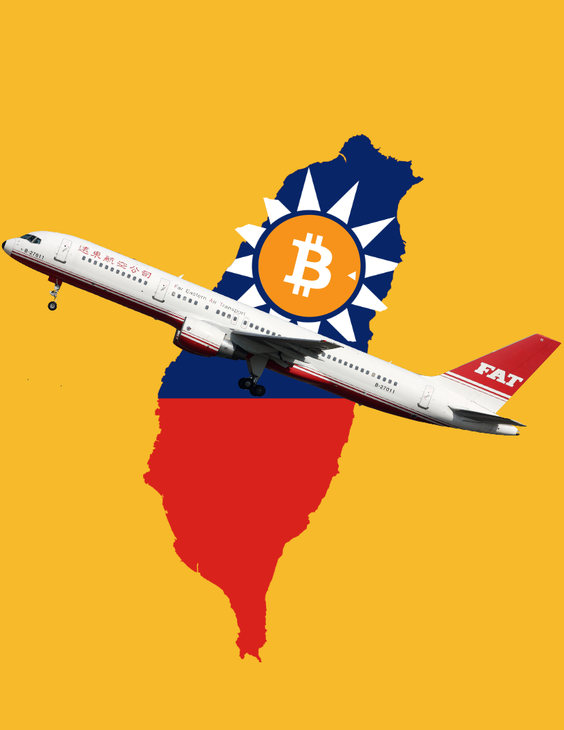 Taiwanese airline, Far East Transport, will soon accept cryptocurrency as payment.