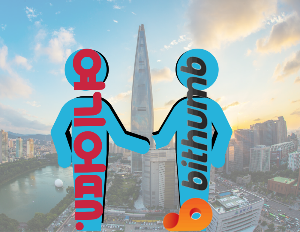 """South Korean companies, Bithumb and """"Good Choice"""", partner to allow use of 12 cryptocurrencies as payment."""