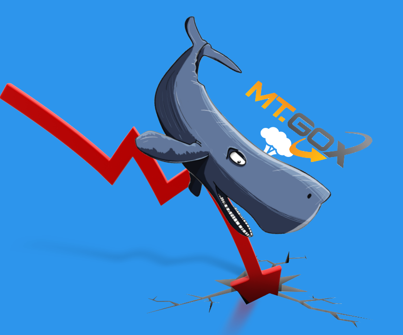 Reckless sell off of remaining Mt Gox Bitcoins having a drastic effect on the market.