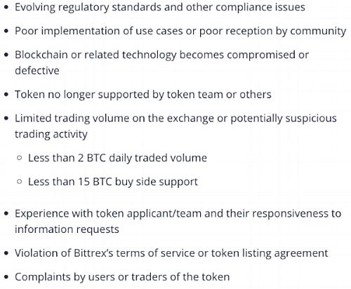 https://support.bittrex.com/hc/en-us/articles/360000474232-Bittrex-Market-Token-Removal-Policy