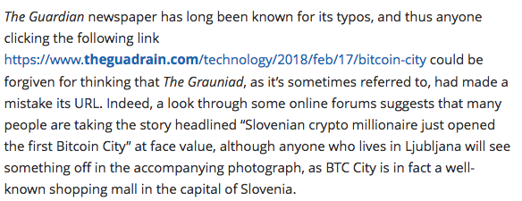 http://www.total-slovenia-news.com/lifestyle/704-fake-guardian-page-promotes-ljubljana-s-btc-city-as-bitcoin-city