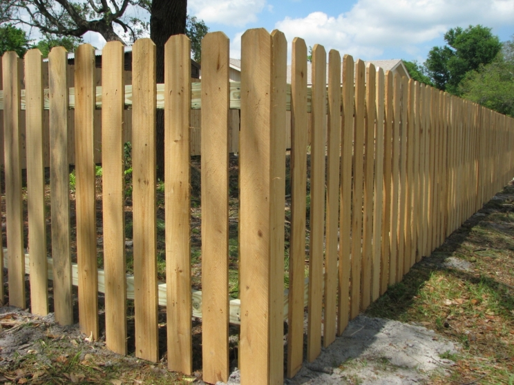 All of our custom pressure treated Privacy and Picket Fences are stick-built to ensure they will last. -