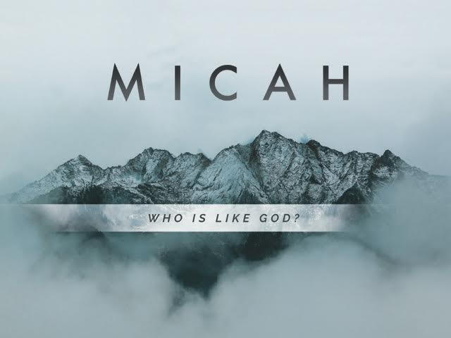 "From the depths of just judgment to the heights of a gracious redemption, Micah declares the greatness of God. Micah's name means ""Who is like God?"" and his writings offer the reply: ""No one."""