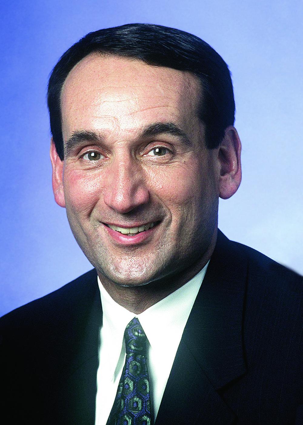 MIKE KRZYZEWSKI  HEAD MEN'S BASKETBALL COACH,  DUKE UNIVERSITY